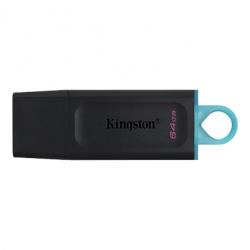 Kingston 64GB DT Exodia USB 3.2 Gen 1 (Black + Teal) DTX/64GB