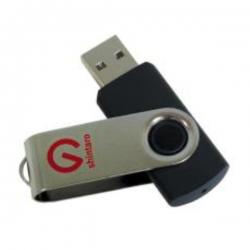 Shintaro 16GB Rotating Pocket Disk USB3.2 (Gen 1) - Backwards compatible with USB 2.0 & USB 3.0/3.2 (SHR16GBU3)