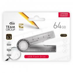 Team 193 USB3.2 Multifunction Flash Drive 64GB, Magnifier, Ruler, Protractor (TT19364GF01)