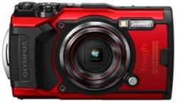 OLYMPUS Stylus Tough TG-6 Red - 12MP, 4x Optical Zoom, Waterproof, Dustproof,Shockproof, 4K movie , Field Sensors. 1 Year Wty. V104210RA000