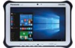 "Panasonic Toughbook FZ-G1 (10.1"") MK5, 8GB, 128GB, Rear Cam, 4G, DPT (Upper: WWAN, Lower: GPS on WWAN), LAN FZ-G1W7102VA"