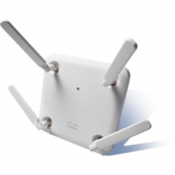 Cisco Aironet 1852 Indoor Access Point with external antenna points, Dual-band 802.11ac Wave 2 (AIR-AP1852E-Z-K9)
