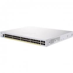 Cisco 48 x 10/100/1000 PoE+ ports with 370W power budget + 4 x 10 Gigabit SFP+ CBS250-48P-4X-AU