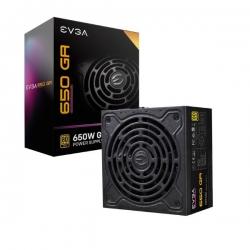EVGA PSU (Full-Modular), 650W, 80+ Gold 92%, SuperNOVA GA, 135mm Fan, Multiple Rail, 10 Year Warranty (220-GA-0650-X4)