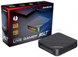 AVerMedia GC555 Live Gamer BOLT External Capture Card, 4K Pass-Through, 4K HDR Capture (GC555)