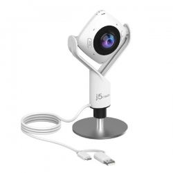 J5create JVCU360 - 360 All Around Conference Webcam for Huddle Rooms - Full HD 1080p video playback @ 30 Hz (JVCU360)