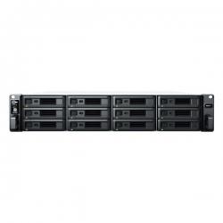 "Synology RackStation RS2421+ 12-Bay 3.5"" Diskless 4xGbE NAS (2U Rack) (SMB), AMD RyzenTM , 4GB RAM, 2xUSB3 (RS2421+)"