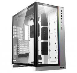 Lian-Li Full-Tower Case: O11 Dynamic XL ROG Certified, 4x USB3.0 + 1x USB Type-C, No Pre-installed Fan, 8x PCI Slot, Supports: E-ATX/ATX/mATX/mini-ITX, White (PC-O11DXL-W)