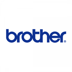 Brother 9MM BLACK ON WHITE STRONG ADHESIVE TZE TAPE 8VA912S0121
