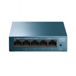 Tp-Link LiteWave 5-Port Gigabit Desktop Switch 5 Gigabit RJ45 Ports Desktop Steel Case LS105G