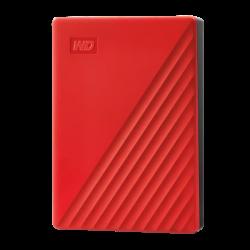 WD MY PASSPORT 4TB RED WORLDWIDE WDBPKJ0040BRD-WESN