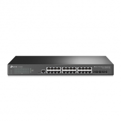 Tp-Link JetStream 24-Port Gigabit L2+ Managed Switch with 4 10GE SFP+ Slots TL-SG3428X