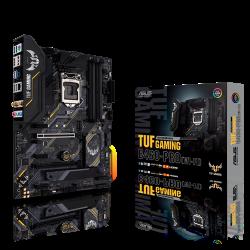 Asus Motherboard B460 ATX: Socket 1200 For Intel 10th Gen. Processors 4x DDR4, 2x M.2, 6x SATA3, TUF-GAMING-B460-PRO-WIFI
