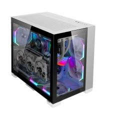 Lian-Li PC-O11DMI-White ATX Case: Dynamic-mini T/G Window WHITE, 2 x USB 3.0, 1 x USB 3.1 TYPE-C,