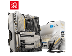 MSI MEG Z590 ACE GOLD EDITION Motherboard Supports 11th and 10th Gen Intel Core / Pentium Celeron processors for LGA 1200 socket