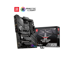 MSI MPG X570S EDGE MAX WIFI Motherboard Supports AMD Ryzen 5000 series, 5000 G-series, 4000 G-series, 3000 series, 3000 G-series, 2000 series and 2000 G-series desktop processors