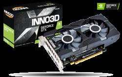 INNO3D NVIDIA, GTX 1650, TWIN X2 OC, 1710MHz, 4GB GDDR6, 2xDP, 1xHDMI, ATX, 2xFans, 300W, 3 Years Warranty (N16502-04D6X-1177VA25)
