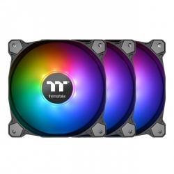 Thermaltake CL-F079-PL12SW-A 120mm Case: Pure 12 ARGB Sync Radiator Fan TT Premium Edition (3-Fan Pack)