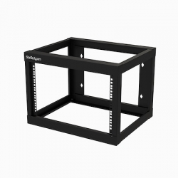 StarTech.com 6U Wall Mountable Rack Frame for Server, LAN Switch, Patch Panel, A/V Equipment - RK619WALLO