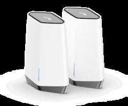 NETGEAR Orbi Pro WiFi 6 AX6000 Business Tri-band Mesh System 2 pack (SXK80-100AUS)