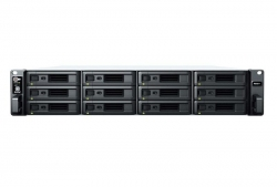 Synology RS2421+ RackStation 12-Bay Scalable NAS ( RAIL KIT optional ) Pls check for HDD compatability listing.