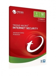 Trend Micro TICIWWMBXSBWAO Internet Security - 1 Device 1 Year OEM, PC/Mac, No Installation Media Included (Download & Register Online)