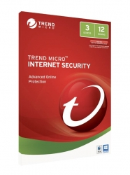Trend Micro TICIWWMBXSBXEO Internet Security - 3 Device 1 Year OEM, PC/Mac, No Installation Media Included (Download & Register Online)