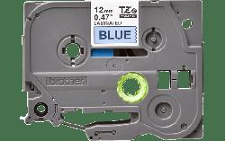 Brother 12MM BLACK ON BLUE TZ TAPE (TZE-531)