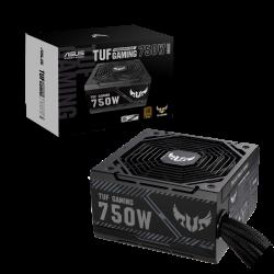 Asus TUF-750B-GAMING ATX Power Supply: 750W TUF Gaming 80+ Bronze Non Modular, 2x CPU(4+4), 2x PCI-E (6+2 Pin), 8x SATA, 150x150x86 mm