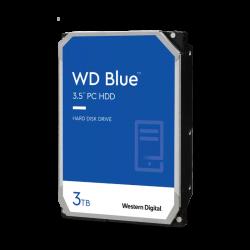 WD Blue 3TB Desktop Hard Disk Drive - 5400 RPM SATA 256MB Cache 3.5 Inch WD30EZAZ