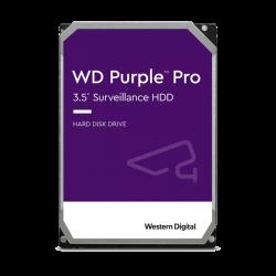 "Western Digital WD141PURP 3.5"" Surveillance Drive: 14TB PURPLE Pro SATA3 6Gb/s, 512MB Cache, 7200RPM"