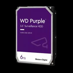 WD 6TB PURPLE 128MB 3.5IN SATA 6GB/S INTELLIPOWERRPM WD62PURZ
