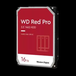 WD Red Pro,16TB, 3.5 form factor, SATA 6 Gb/s, 7200 RPM, 256 cache, 5 yrs warranty WD161KFGX