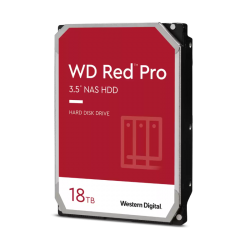 WD Red Pro,18TB, 3.5 form factor, SATA 6 Gb/s, 7200 RPM, 256 cache, 5 yrs warranty WD181KFGX