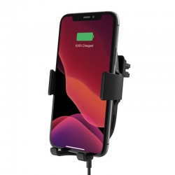 Belkin BOOSTCHARGE WIRELESS CAR CHARGER WITH VENT MOUNT 10W BLACK WIC001BTBK