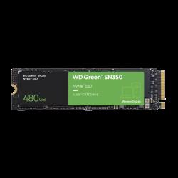 WD Green, CSSD, NVMe M.2 Form factor, PCIE GEN3 Interface, 480 GB, 3 Year Warranty (WDS480G2G0C)