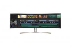 LG 49WL95C-WE 49IN ULTRAWIDE 32:9 DUAL QHD 5120 X 1440 IPS CURVED MONITOR HDMI DP USB-C