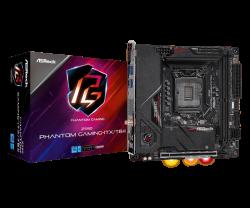 Asrock Z590 PHANTOM GAMING-ITX/TB4 Motherboard Supports 10th Gen Intel Core Processors and 11th Gen Intel Core Processors