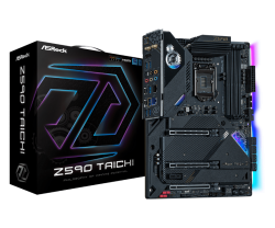 Asrock Z590 TAICHI Motherboard Supports 10th Gen Intel Core Processors and 11th Gen Intel Core Processors