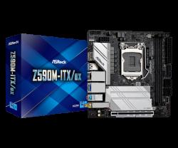 Asrock Z590M-ITX/AX Motherboard Supports 10th Gen Intel Core Processors and 11th Gen Intel Core Processors