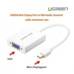 Ugreen Mini Display Port To Vga+audio Converter Cable--aluminum Case Acbugn10437