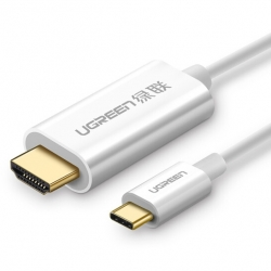 UGreen TypeC to HDMI 1.5M Cable White 30841 Acbugn30841