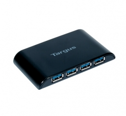 Targus 4 Port Usb3.0 Hub Superspeed, One Usb Hub To 4 Ach119au