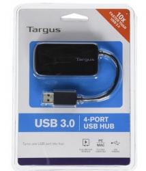 Targus Ach124us, 4-port Usb3.0 Bus Powered Hub Ach124us