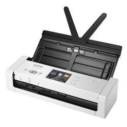 Brother Compact Document Scanner With Touchscreen Lcd Display & Wifi (25ppm) 5wdc0300156