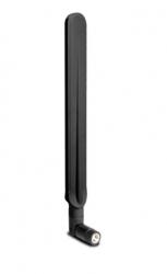 DrayTek High-gain Omni-directional Antenna For 5 Dbi @ 2.4g / 7 Dbi @ 5g Black Ant-1207bk