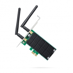 Tp-Link Pci Express Adapter: Ac1200 Wireless Dual Band Ad-Hoc/ Infrastructure Mode With Lp Low-Profile