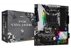 Asrock B450M Steel Legend Amd Am4 Matx Mb B450M-Steel Legend