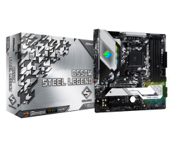 AsRock B550M STEEL LEGEND MotherBoard (B550M STEEL LEGEND)