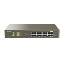 TENDA (TEG1116P-16-150W) 16-port GE PoE+ switch